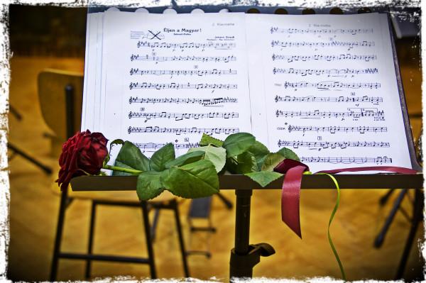 Dirigent Matjaž Brežnik ob 70-letnici Orkestra AKORD Celje